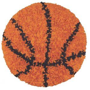 Shaggy RAggy Basketball Rug