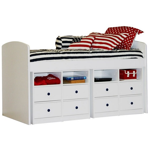 Americana Bunk Bed Hugger Fitted Comforter