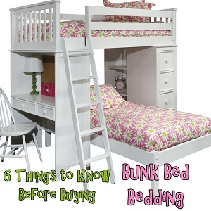 Bunk Bed Bedding Buying Tips