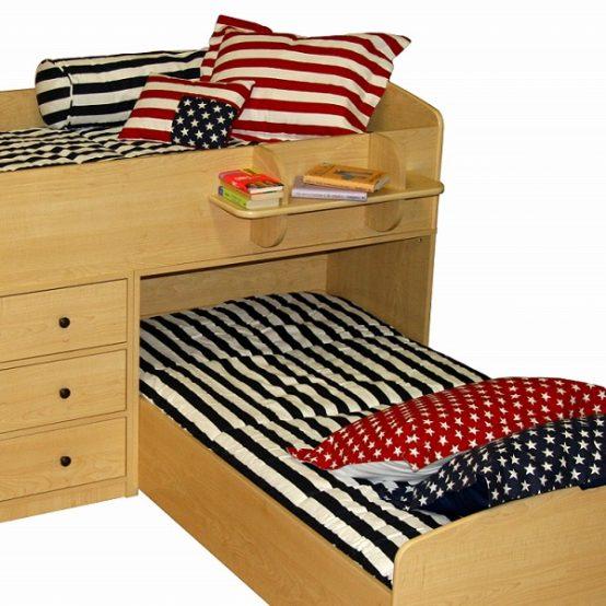 americana bunk bed hugger