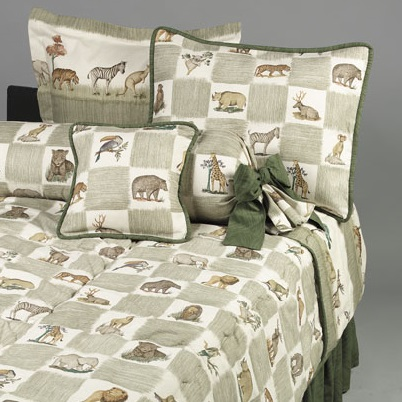 Animal Kingdom Bunk Bed Hugger Fitted Comforter