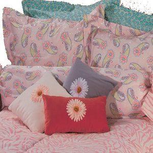 pink paisley bunk bed hugger