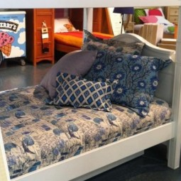 Arctic Blue Natural Collection Bunk Bed Hugger