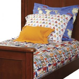 Modern Plaid Fitted Bedding