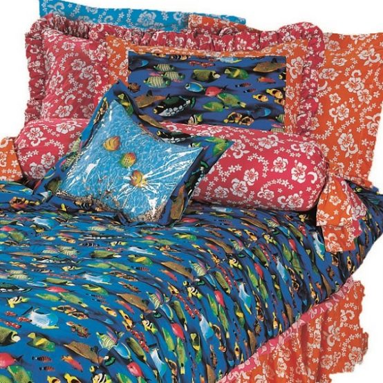 hibiscus bedding