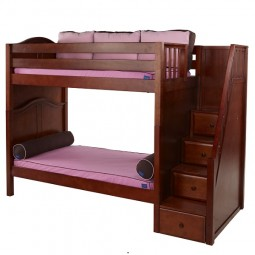 High Bunk Bed with Staircase