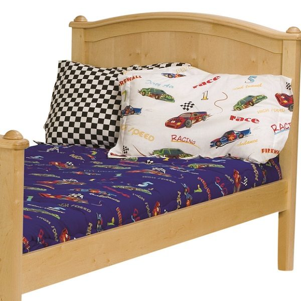 Fascar Race Car Bunk Bed Hugger Fitted Comforter