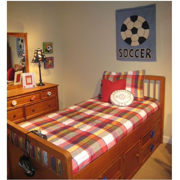 Quot Mattox Red Quot Classic Plaid Bunk Bed Hugger Fitted Comforter