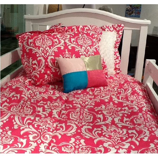 Quot Osborne Quot Candy Pink Bunk Bed Hugger Fitted Comforter
