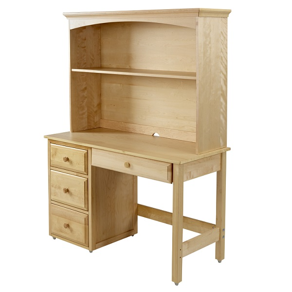 Dorm room chairs - Desk With Hutch Student Desk Hardwood 3 Finishes