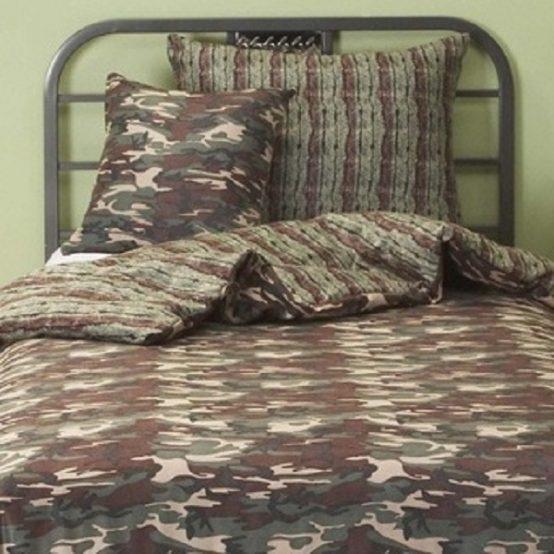 camo bedding
