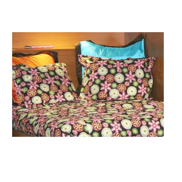 Brown Flower Bunk Bed Hugger Quot Lolli Quot Fitted Comforter