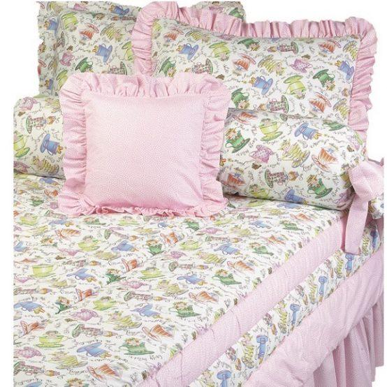 tea party bunk bed hugger