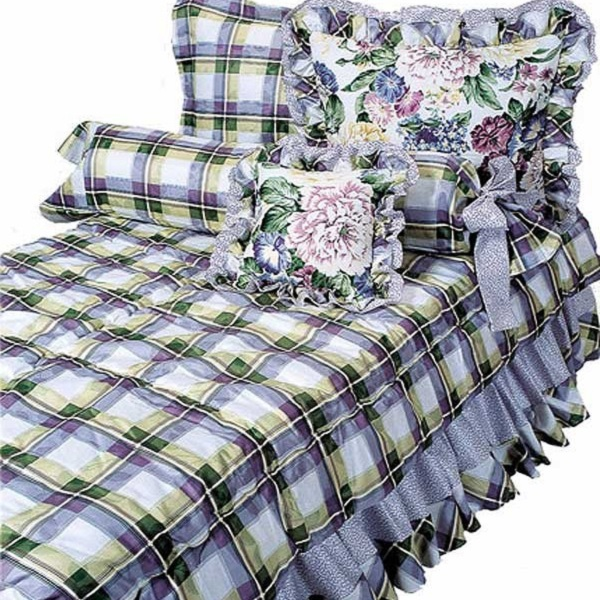 Quot Dylan S Room Quot Lavender Floral Bunk Bed Hugger Fitted