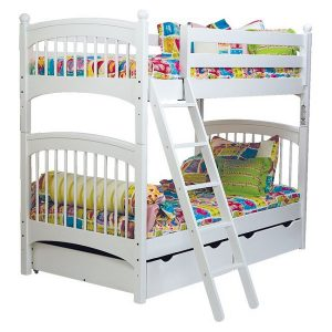 hearts bunk bed hugger