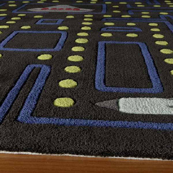 Video Game Rug On Sale -Hand Tufted Arcade Rug