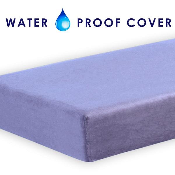 Memory Foam Mattress Lavender Waterproof Cover 8 Quot Twin