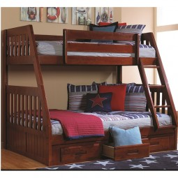Merlot Twin Full Bunk 2818 600