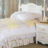 mini floral bunk bed hugger