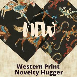 Western Print Novelty Hugger
