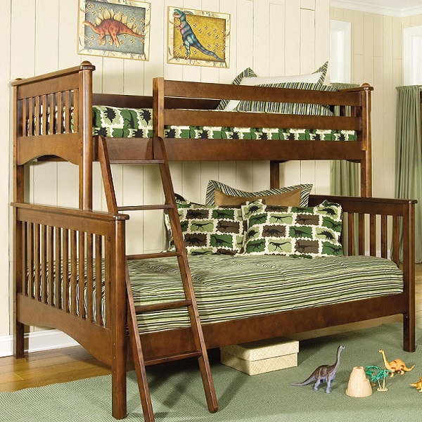 Retro Rex Dinosaur Bunk Bed Hugger Fitted Comforter