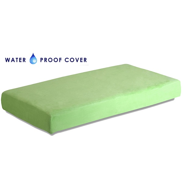 separation shoes c139f e259f Kids Memory Foam Mattress – Green 8″ Twin w/Waterproof Cover