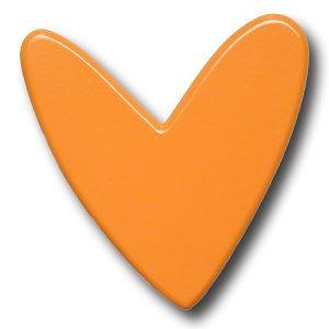 heart orange 600