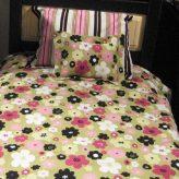 Hugger Comforter in Modern Floral Print