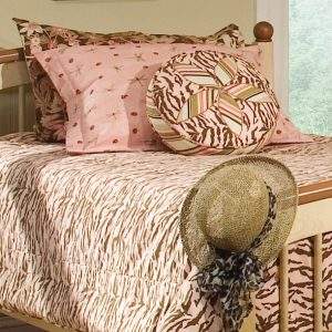 Fitted Bedding in Pebbles Collection of Fabrics