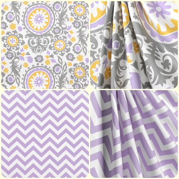 Wisteria Collection Of Fabrics For Custom Bedding