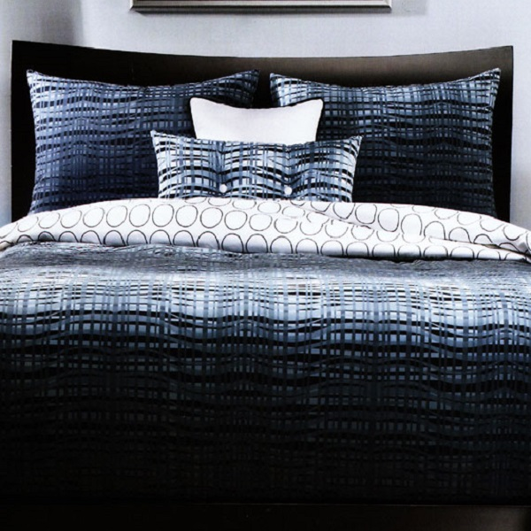 Funky Bedding Interweave Fitted Cap Comforter Set