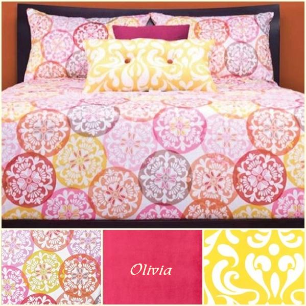 Medallion Bedding Olivia Fitted Bed Cap Comforter Set