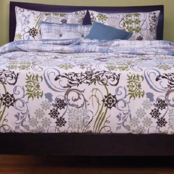 Classic Bedding Ornamental Fitted Bed Cap Comforter Set
