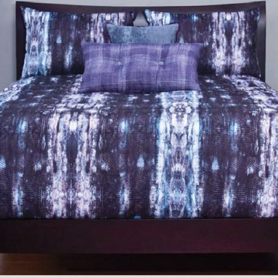 Snakeskin Print Bedding Python Bed Cap Comforter Set