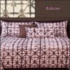 reflection fitted bed cap comforter set showing fabrics