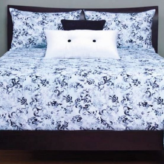 blue white bedding sets