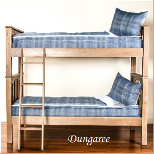 Dungaree Zipper Bunkie