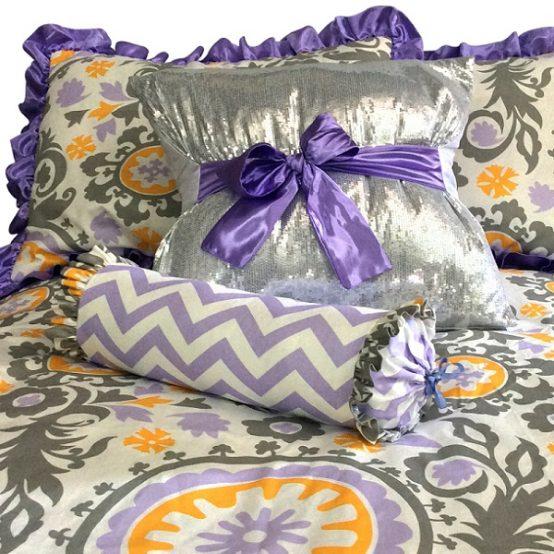 Wisteria Bunk Bed Hugger Suzani Bedding