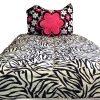 zebra bedding for bunks