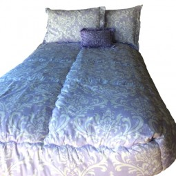 lilac bedding for bunks