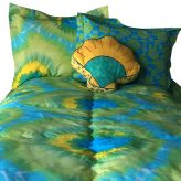 Tie Dye Bedding Tie Dye Lime Bunk Bed Hugger Fitted Comforter