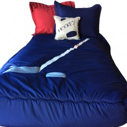 hockey navy bunk bed hugger