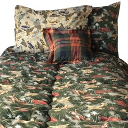 Fighter Airplane Fitted Bedding for Bunk Beds