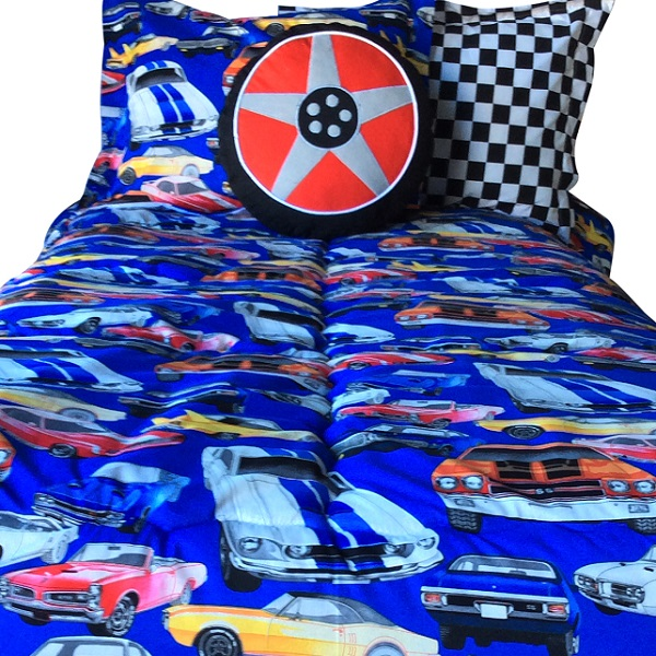 Muscle Car Bunk Bed Hugger Muscle Car Bedding