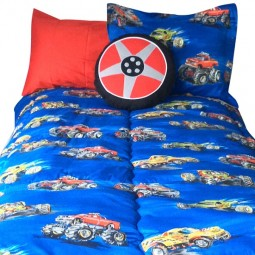 Monster Truck Bunk Bed Hugger Comforter