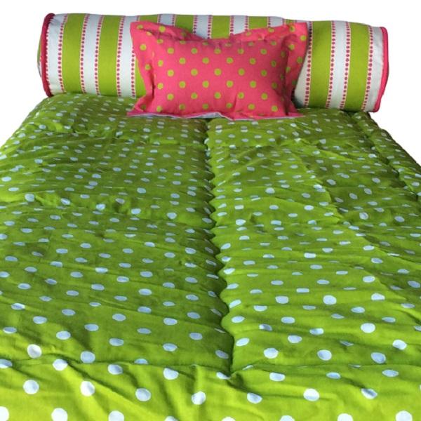 Polka Dot Bunk Bed Hugger Fitted Comforter Many Colors