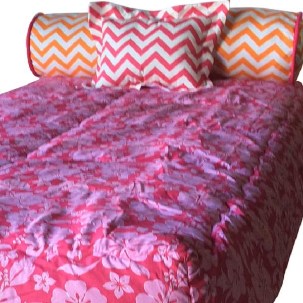 Hana Bunk Bed Hugger Comforter Hibiscus Bedding