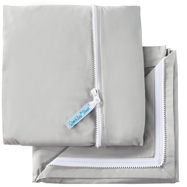 Zip On Starter Sheet Amp Zipper Top Sheet Easy Sheets
