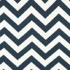 Blue Twill Zig Zag Fabric for Bunk Bedding