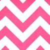 Chevron Fabric in Candy Pink White